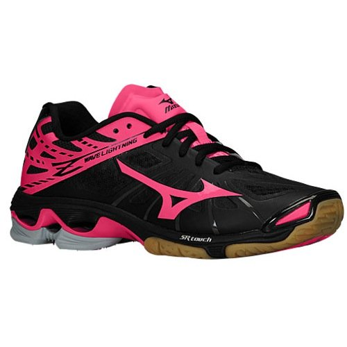 Pink And Black Volleyball Shoes