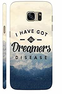 KALAKAAR Printed Back Cover for Samsung Galaxy S6 Edge,Hard,HD Matte Quality,Lifetime Print Warrenty