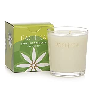 Pacifica Tahitian Gardenia 5.5 oz Soy Boxed Glass Candle