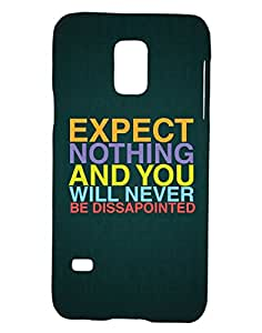 Pickpattern Back Cover for Galaxy S5 Mini SM - G800H