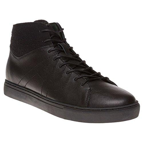 Armani Jeans High Top Uomo Sneaker Nero