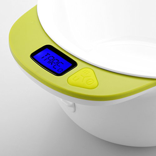 High-Tech Place High-Tech Place Digital Food Scale - Measuring Bowl, Free App for iOS/Android Devices