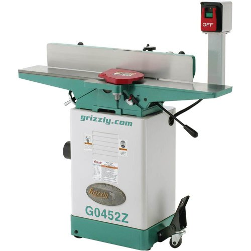 Review Grizzly G0452Z Jointer with Spiral Cutterhead, 6 x 46-Inch