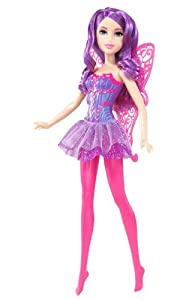 Barbie Purple Fairy Doll with Pink Wings