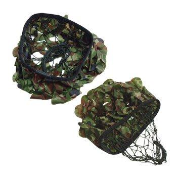 在庫販売 JME 陸自新迷彩 130  偽装網新迷彩ひらひら付 鉄帽用 ヘルメット用
