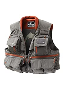 Simms Guide Vest (Gunmetal, Small)
