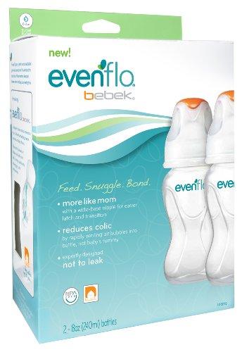 Evenflo Bebek 2 Count Bottle, 5 Ounce front-499239
