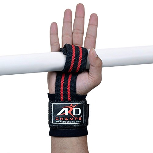 ARD CHAMPS Weight Lifting Strap Body building Wrist Support Wraps Bandage R&B