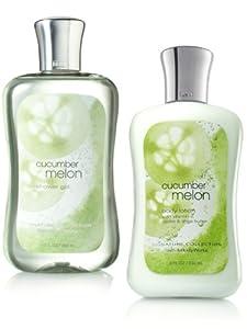 Bath & Body Works, Shower Gel and Body Lotion Gift Set (CUCUMBER MELON)