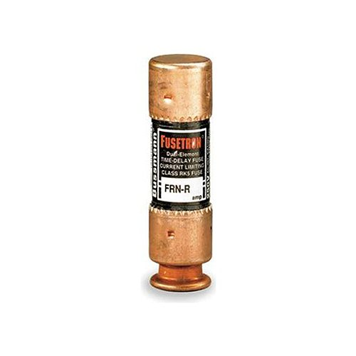 Bussmann Frn-R-20 20 Amp Fusetron Dual Element Time-Delay Current Limiting Fuse Class Rk5, 250V Ul Listed