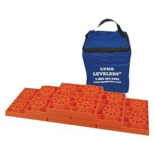 Tri-Lynx 00016 Lynx Leveler for RV Leveling Block, (Pack of 4)