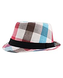 RuggedButts® Infant / Toddler Boys Fedora - Blue/Brown/Red/Tan - 12-24m (M)