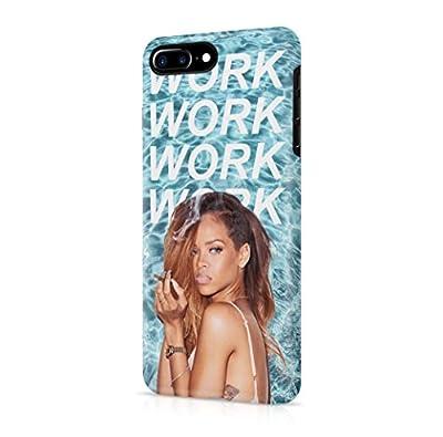 Rihanna Work Lyrics iPhone 7 Plus Hard Plastic Phone Case Cover
