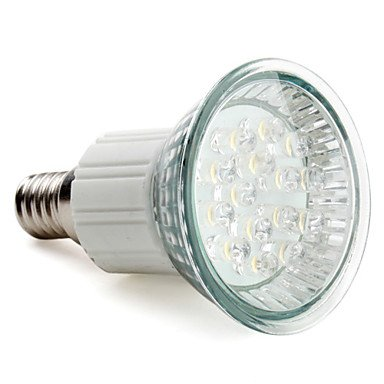E14 15-Led 75Lm 1W 2800-3500K Warm White Spot Bulbs (220-240V)
