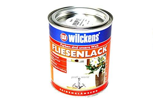 neuheit wilckens fliesenlack lackfarbe wei seidengl nzend 750ml. Black Bedroom Furniture Sets. Home Design Ideas
