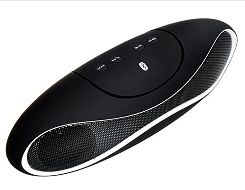 Btk1015 Portable Bluetooth 2.1 Wireless Speaker With Hands-Free Call, Fm Radio & Usb/Tf Card Reader (White)