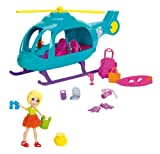 Polly Pocket Adventure Helicopter