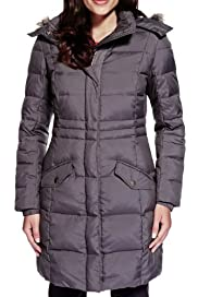 Per Una Thermal Feather & Down Filled Parka with Stormwear [T62-4019J-S]