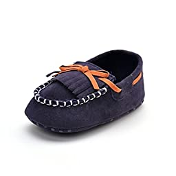 Baby Boys\' Shoes Moccasins Navy US 5 (12-18 months)