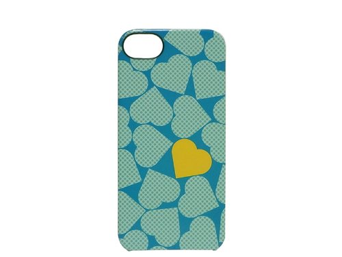 INCASE(インケース)SNAP CASE for iPhone5 POP HEARTS BLUE 69183 11122 (POP HEARTS BLUE, iPhone5用)