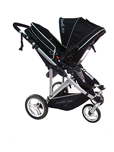StrollAir My Duo Stroller, Black