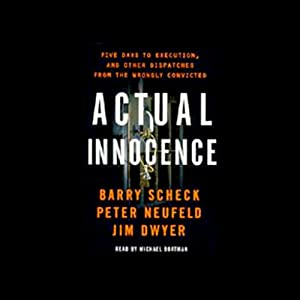 Actual Innocence Audiobook