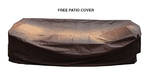 Ohana-Collection-PN0703aSB-Sunbrella-Outdoor-Patio-Wicker-Furniture-7-Piece-Couch-Set-with-Free-Patio-Cover