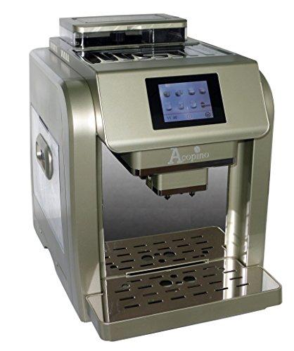 Acopino 330 One Touch Monza Kaffeevollautomat, Espresso, Cappuccino, Latte Macchiato, champagner thumbnail
