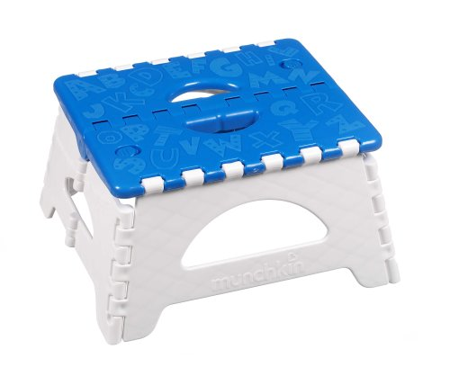 Munchkin Folding Step Stool, Blue