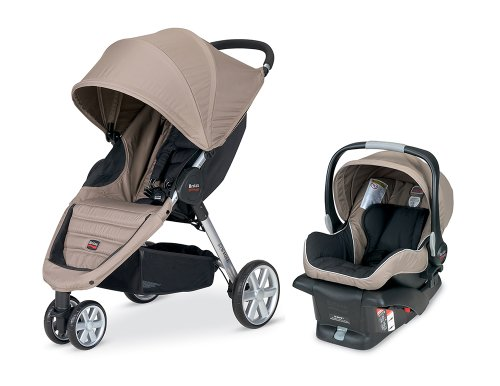 Review Britax 2013 B-Agile and B-Safe Travel System, Sandstone