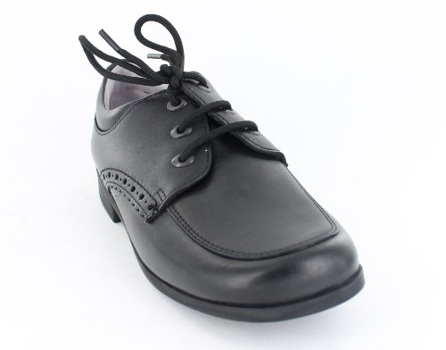 GIRLS START RITE SCHOOL SHOES BLACK FITTING -G UK 13.5 KIDS MAMBO