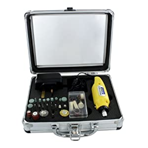 Rotacraft Mini Rotary Tool kit,Yellow