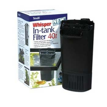 Whisper 40 In Tank Filter (Catalog Category: Aquarium / Power Filters)