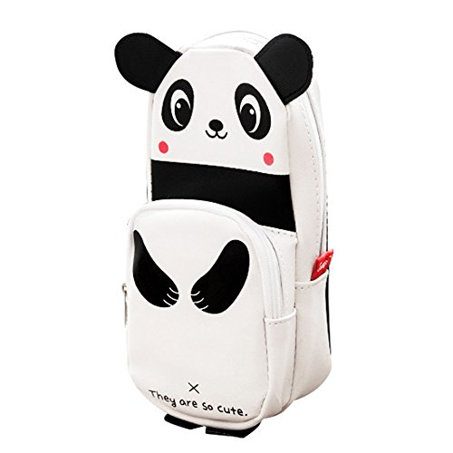 Unique Panda Pencil Case Creative Pouch Sac Pen Meilleur cadeau