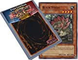 Yu Gi Oh : POTD-EN019 1st Edition Black Stego Common Card - ( Power of the Duelist YuGiOh Single Card )