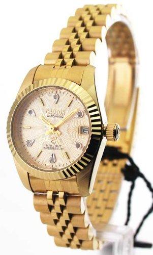 Ladies Goldtone Bracelet Watch