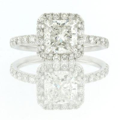 2.55ct Princess Cut Diamond Engagement Anniversary