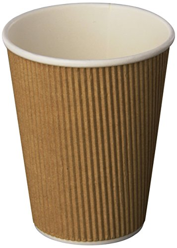 Genuine-Joe-Insulated-Ripple-Hot-Cup-12-Ounce-Capacity-Multiple-Quantities