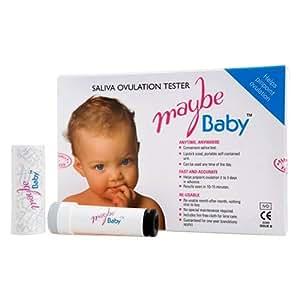 Maybe Baby Saliva Testing Ovulation Fertility Kit Test ...