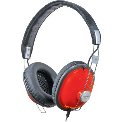 Brand New Panasonic Red Retro-Style Monitor Headphones