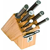 Shun TDMS0900 Premier 9-Piece Gourmet Block Knife Set