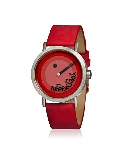 Simplify Men's SIM0503 The 500 Red Leather Watch