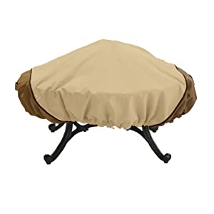 Classic Accessories Veranda 44-Inch Round Fire Pit Cover