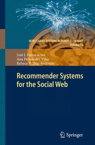 Recommender Systems for the Social Web (Intelligent Systems Reference Library)
