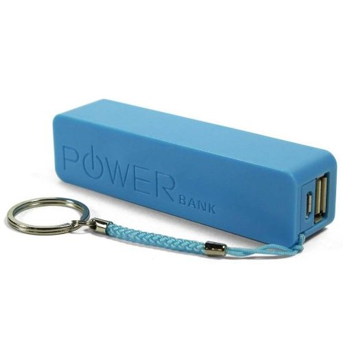 Battlane 2600mah Blue - Quality Portable Mobile / Tablets 2600mah Portable Lightweight Power Bank External Battery Charger For Mobile Phones / SmartPhones