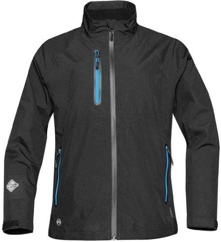 Stormtech Xg-2W Women'S Microflex Performance Shell Jacket Black/Electric Blue Large