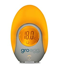 The Gro Company HC126 Groegg - Termómetro digital con cambio de color marca The Gro Company
