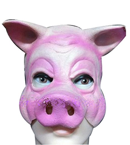 Pig Latex Simulation Christmas Funny Mask Halloween Masquerade Party Mask