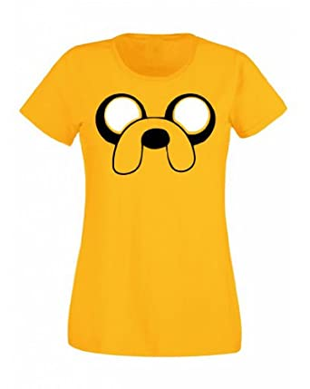 Jake the Dog Adventure Time Inspired Women's T-Shirt