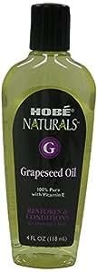 Hobe Naturals Grapeseed Oil, 4 Fluid Ounce
